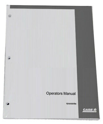 Case Ih David Brown 1410 1412 Owners Operators Instruction Manual