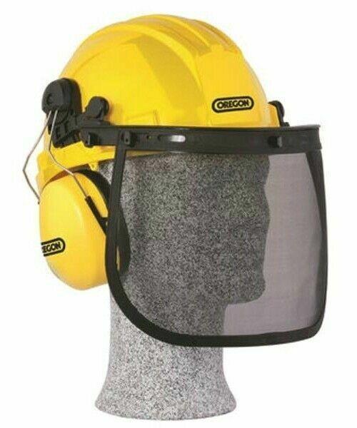 Oregon 563474 Helmet Visor Chainsaw Safety Protective Helmet Combo Set
