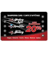 Pro Hockey Life Skate Sharpening Card (10 sharpens)