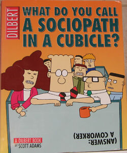 Dilbert Sociopath in a Cubicle Comic Book London Ontario image 1