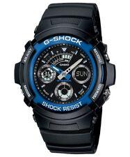Casio G-Shock Analogue/Digital Mens Black Watch AW-591-2ADR