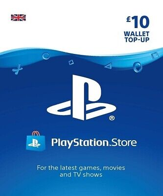 PSN Gift Card 10 GBP UK | PS3/PS4/PS Vita | Fast Delivery