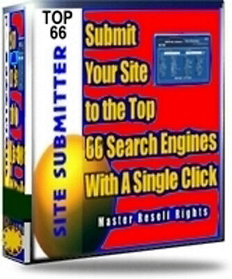Advanced Site Submitter Software With Master Resell Rights