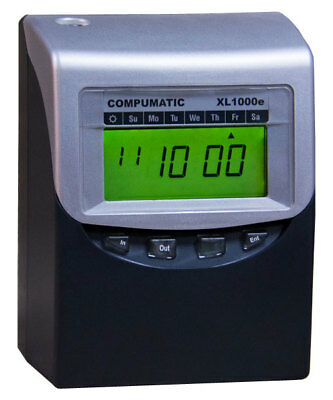 Self Totaling Time Clock With Horns Employee Time Clocks