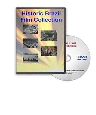 Historic Brazil Film Collection Culture Sao Paulo Belo Horizonte DVD A455
