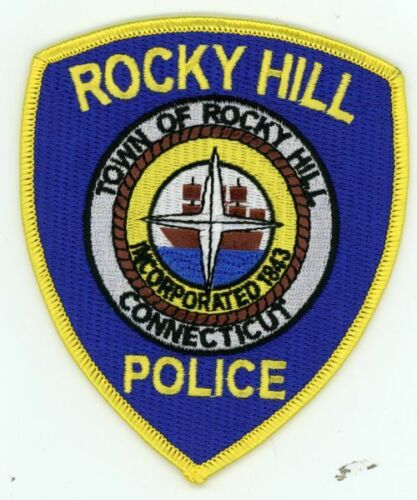 CONNECTICUT CT ROCKY HILL POLICE NEW PATCH SHERIFF