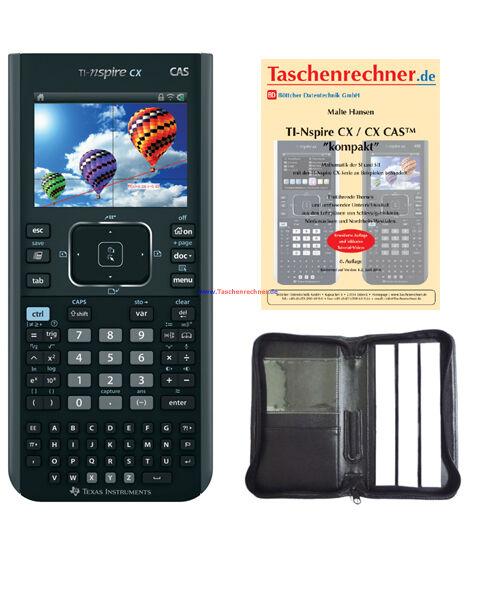 Texas Instruments Ti Nspire Cx Cas (Grafik-rechner Mit Farbdisplay, Handheld)