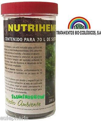 NutriHemp 200g Trabe Abono Fertilizante organico de Liberacion Lenta ecologico
