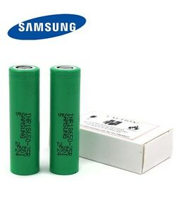 Samsung INR18650-25R Lithium Ion Li-Ion Batteries