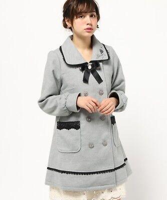 axes femme Rose & Ribbon Coat Romantic Sweet Lolita Hime gyaru Kawaii Japan