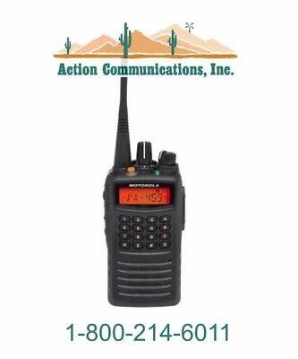 New Motorola Vx-459-d0-5 Vhf 136-174 Mhz 5 Watt 512 Channel Two Way Radio