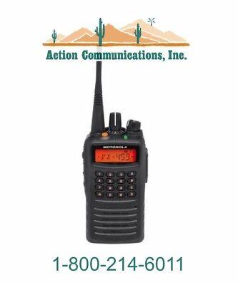New Motorola Vx-459-d0-5 Vhf 136-174 Mhz 5 Watt 512 Channel Two Way Radio