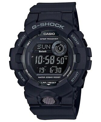 BRAND NEW CASIO G-SHOCK  GBD800-1B G-SQUAD STEP TRACKER BLACK RESIN MENS WATCH! ()