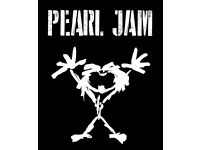 Pearl Jam Tickets x2 O2 London 18/06/18 Upper 407 seated together