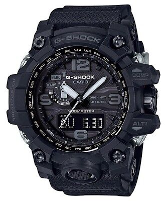 CASIO G-SHOCK MUDMASTER TOUGH SOLAR EXTREME BLACK RESIN BAND - GWG-1000-1A1DR for sale  Shipping to Canada