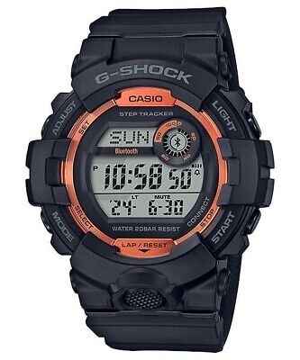 New Casio G-Shock Bluetooth Resin Strap Men's Watch GBD800SF-1
