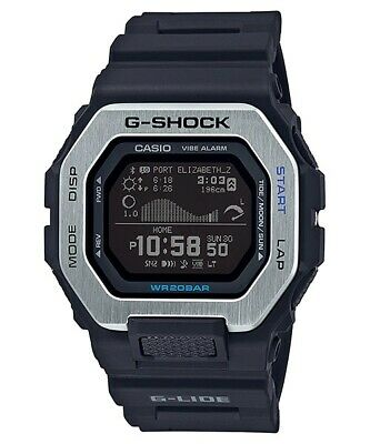New Casio G-Shock G-Lide Bluetooth Resin Strap Watch GBX100-1
