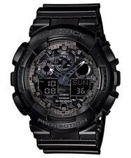 Casio G-Shock Analogue/Digital Mens Camouflage Series Black Watch GA-100CF-1ADR