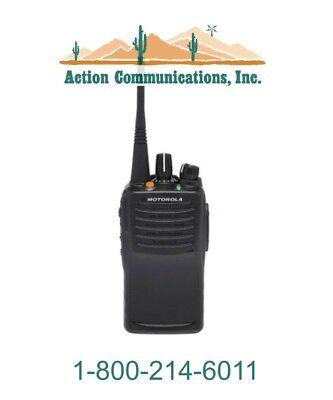 New Motorola Vx-451-d0-5 Vhf 136-174 Mhz 5 Watt 32 Channel Two Way Radio