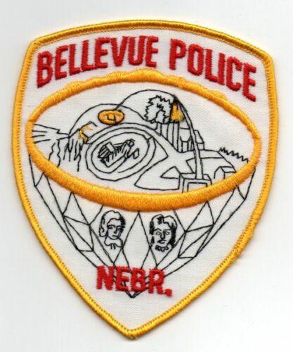 NEBRASKA NE BELLEVUE POLICE NICE PATCH SHERIFF