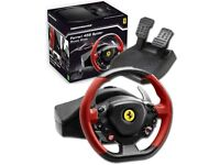Thrustmaster Ferrari Spider Racing Wheel for Xbox One and PC - Hardly used, with box