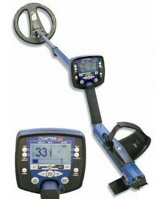 Détecteur de métaux MINELAB Quattro LCD TBE + housse pluie - détection or argent