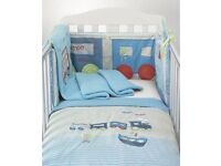 Mothercare cho cho train cot bedding
