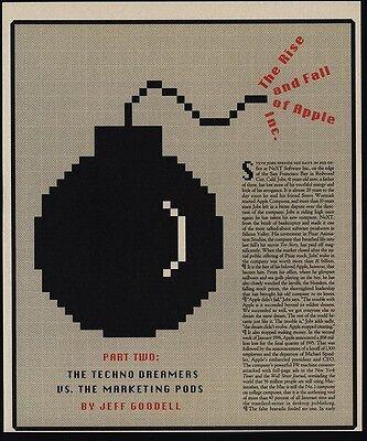 1996 APPLE Computer & STEVE JOBS 8 Page Magazine Article & Photos - PART 2