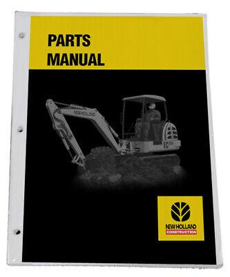 New Holland L784 Skid Steer Parts Catalog Manual - Part 05078410