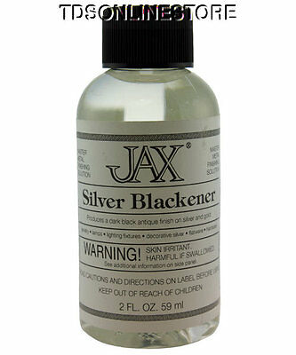 как выглядит Товар для металлообработки Antique Blackener For Gold And Silver 2 oz By Jax фото