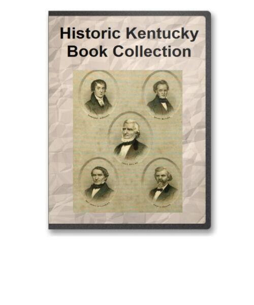 33 Rare Old KY Kentucky History Pioneers Family Tree Genealogy Books - B287