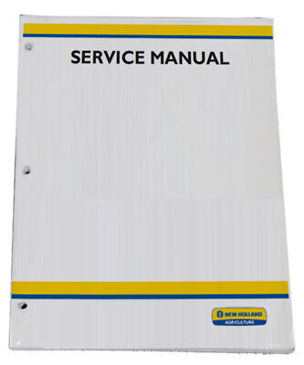 New Holland Tn75fatn85fatn95fa Tractor Service Repair Manual