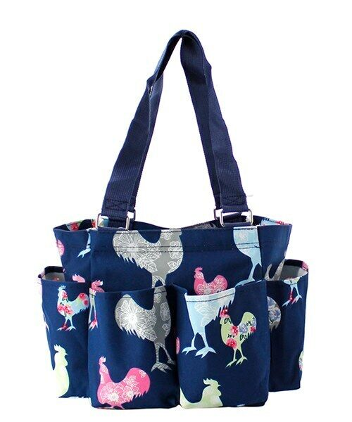 Rooster NGIL Small Zippered canvas Caddy Organizer Bag Free