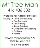 Tree Removal, Tree Pruning, Tree and Shrub Planting, Hedges!
