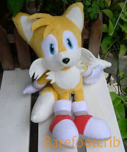 NEW-ARRIVAL-COOL-Sonic-the-Hedgehog-FRIENDS-Miles-Prower-Tails-8-PLUSH-DOLL