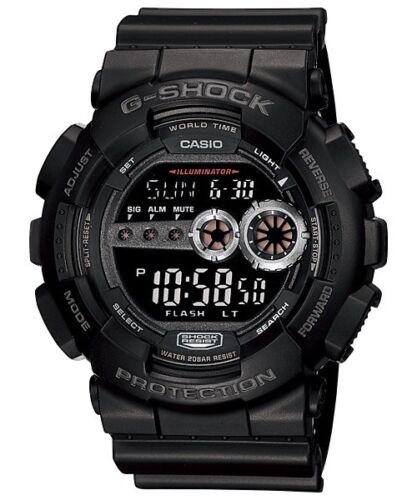 Купить Casio - NEW CASIO G-SHOCK GD100-1B BLACK RESIN DIGITAL MILITARY MENS WATCH NWT!!!