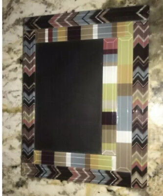 Missoni Target Collection Blue green Brown Glass 4x6 Photo Frame  Giftware (Target Glasses Frames)