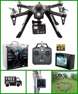HIGH QUALITY Drone w/ Camera Live Video Quadcopter Photography Black 4K Ultra HD
