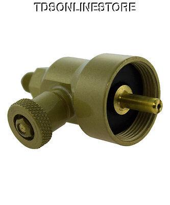 Grobet Torch Regulator Adapter For Disposable Propane Tanks