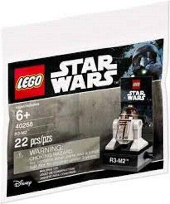 LEGO Star Wars 40268 R3-M2 Polybag - BRAND NEW & SEALED!!!