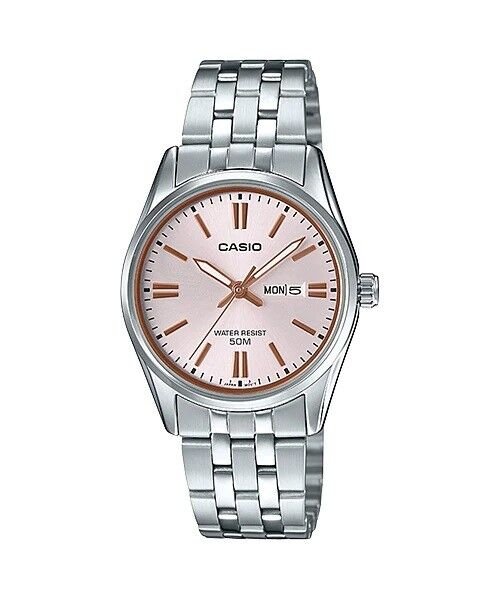 4ad53268c1ad LTP-1335D-4A Casio Ladies Watches Brand-New Analog Steel