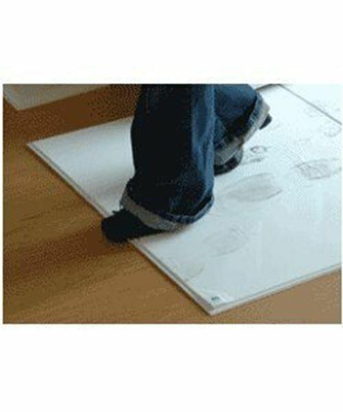Sticky Mat White Floor Mat, 18 X 36, 1 Case With 4 Mats-120 Sheet