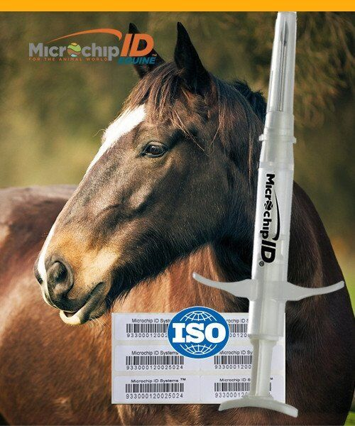 Pro ID Equine Microchip ISO 134khz 25 Pack  - $175.00