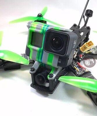 Alien Gopro Hero 5 / 6 / 7 mount session MULTI-COLOR Fpv Drone Impulse Tpu Case