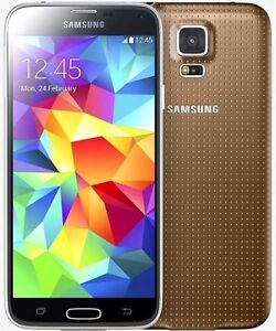 THE CELL SHOP has *Brand New* Samsung S5 Gold Unlocked+WIND