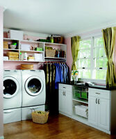 Laundry room solutions in London, ON  - CUSTOM CLOSET SOLUTIONS