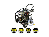 KM3600DXR Diesel Pressure Washer, VT62-420S rotary surface cleaner and Turbo Nozzle