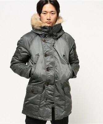 SPIEWAK Golden Fleece N3-B Flight Parka Airforce Navy made in USA,size M rrp 680, used for sale  Shipping to Ireland