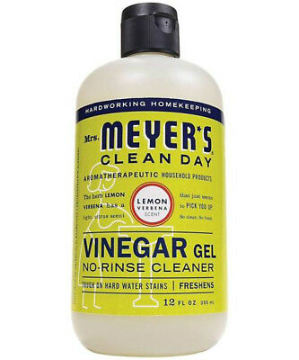 Mrs Meyers Clean Day 70189 Vinegar Gel Cleaner, Lemon Verbena, 12.0 Fl Oz