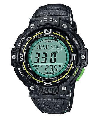 Casio Men's Classic Twin Sensor Thermometer Compass Watch